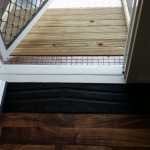 Photo of internal rubber wedge & external timber ramp